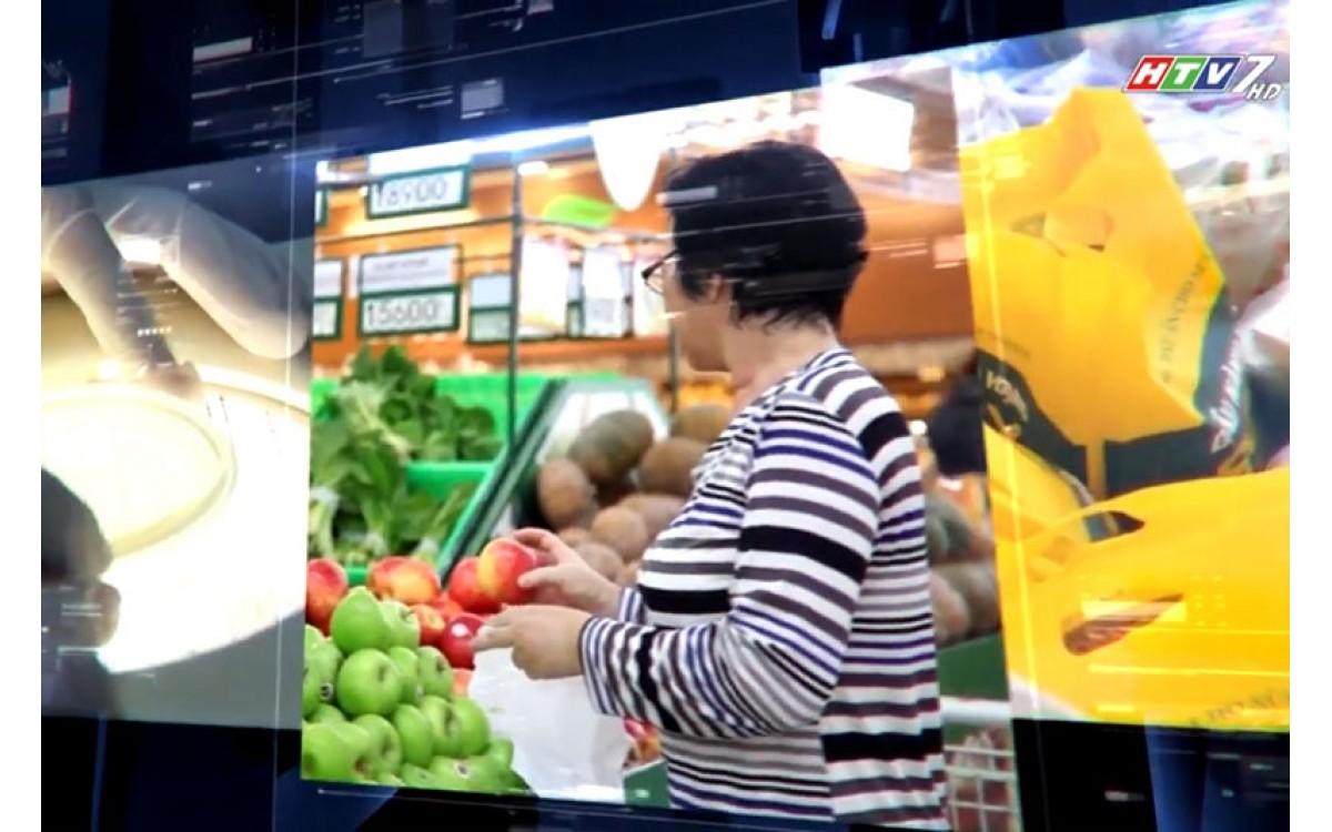 HTV7 đưa tin về Đông Trùng Hạ Thảo Anh Phương năm 2017