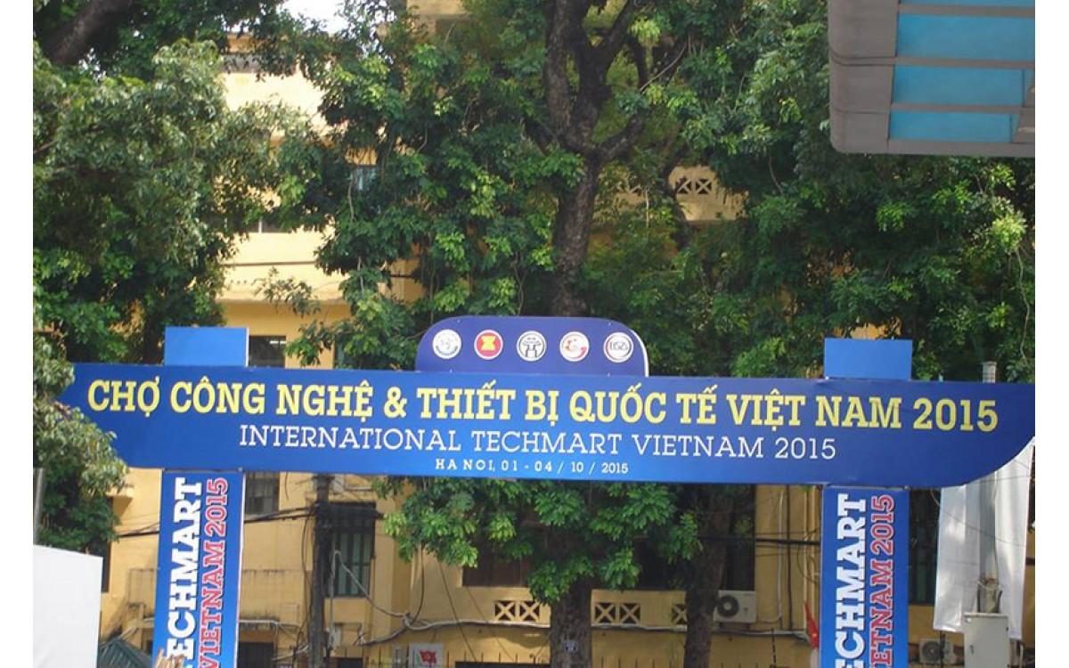 Triển lãm Quốc tế Techmart 10. 2015 tại Hà Nội